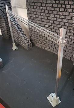 Art.-Nr. AZL 6100-44 Masten mit Sockel zu Querträgerfachwerk Serie 7000