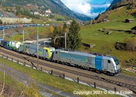 Art.Nr. 55144 Elektrolokomotive BLS Cargo BR 187 - Neuheit 2022
