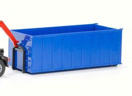 Art.-Nr. E 99114 Absetzcontainer hoch blau 1:25