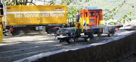 Art.Nr. 19001 Containerwagen nach dem Vorbild Lb-k der RhB
