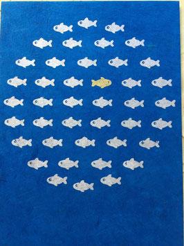 Postkarte Fisch