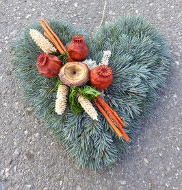 (1) Grabkissen Herz