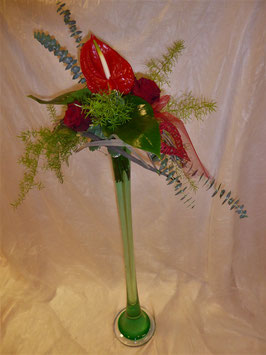 (VA4) Strauss mit Anthurium