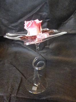 Glasständer mundgeblasen