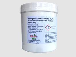 Anorganischer Schwefel 99,9%
