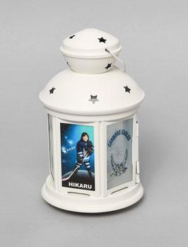 R : Lantern for tealight, white