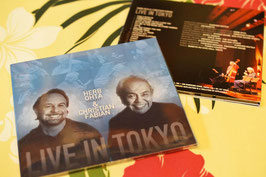 ★SOLD★HerbOhta&ChristianFabian LIVE IN TOKYO【CD】
