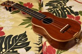 USED/Craft Musica VINTAGE HONDURAN MAHOGANY DITSON STYLE-3 SOPRANO