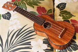 NEW/tkitki ukulele AM-S Soprano 【アフリカンマホガニー】