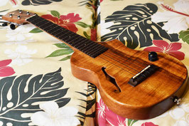 ★SOLD★USED/T's Ukulele ECF-200pf Concert