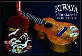 NEW/KIWAYA UKULELE KPC-100ce WI #1978 Concert / 100周年記念 限定10台