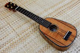 NEW/honua ukulele HPL-08C Soprano LongNeck