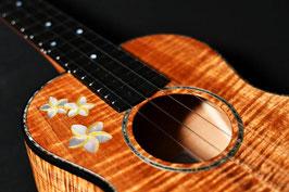 NEW/honua ukulele HT-08C Tenor Plumeria Custom