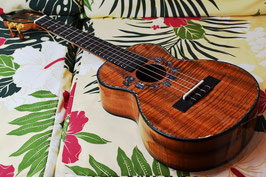 ★SOLD★NEW/M's CRAFT Kai Ukulele MT-223 Tenor TANTAN Monstera Custom