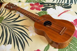 ★HOLD★VINTAGE/Kamaka SOPRANO ALL KOA【管理番号5-58】