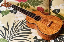 NEW/tkitki ukulele HK-C5A 【ハワイアンコア5Aグレード】Concert