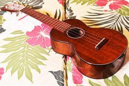 NEW/tkitki ukulele HM-C CUSTOM Concert 【ホンジュラスマホガニー】