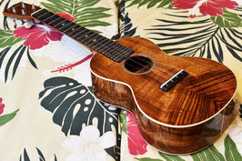 NEW/AT ukulele by TR HawaiianKoa&Ebony指板 CON