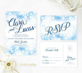 Winter wedding invitations # 71.2