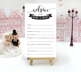 Wedding mad libs cards - pack of 100