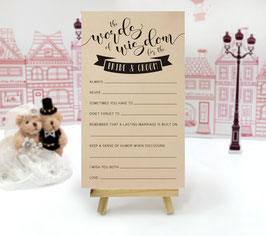 Kraft wedding mad libs - pack of 100