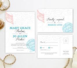 Hawaiian wedding invitations # 65.2