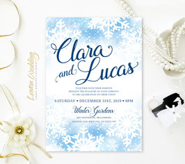 Winter wedding invitations # 71.1