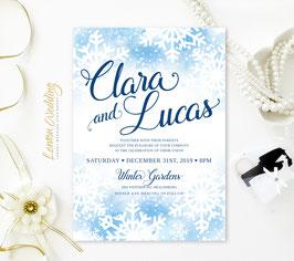 Winter wedding invitations # 71.1