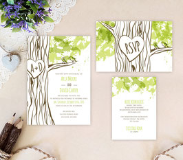 Woodlands wedding invitations # 50.3