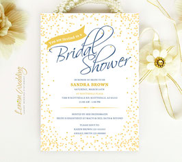 Confetti bridal shower invitations # 0.10