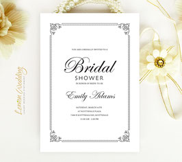 Simple wedding shower invitations # 0.88