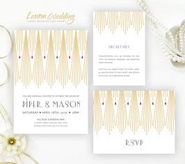 Gatsby wedding invitation # 15.3