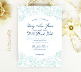 Nautical wedding invitations # 39.1