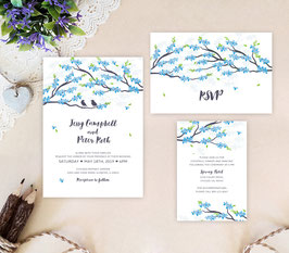 Spring wedding invitations # 95.3