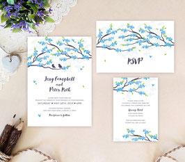 Spring wedding invitations # 95.3