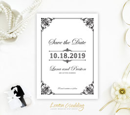 Simple save the date cards # 0.69