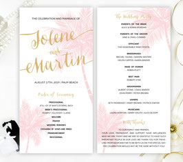 Hawaiian wedding ceremony programs # 0.21