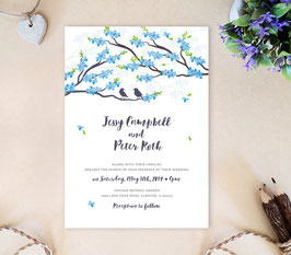 Spring wedding invitations # 95.1