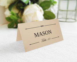 Wedding Placement Cards