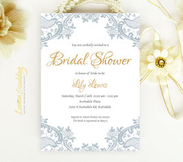 Lace bridal shower invitations # 0.19