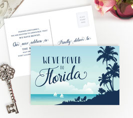 Florida Moving Postcards