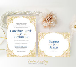 Beautiful wedding invitations # 49.2