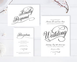 Affordable wedding invitation sets  # 111.3