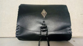 Pochette ceinture motif losange