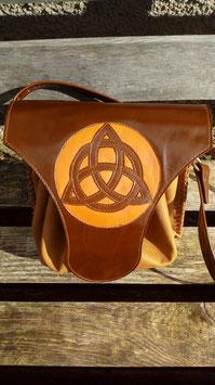 Sac en cuir symbole Celtique
