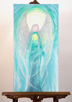 Haniel Acryl auf Leinwand 40x80 cm