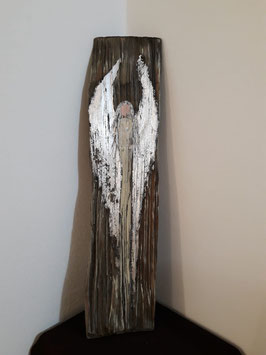 Wooden Angel, silver