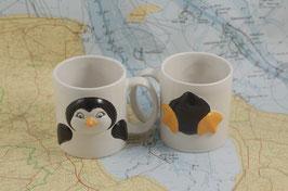3D-Motivbecher Pinguin
