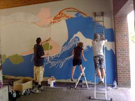 Weitere Teilnehmer Graffiti