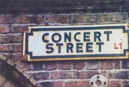 Concert Street Canvas Print